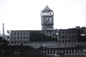 Singer Sewing Machine Factory Kilbowie, Clydebank
