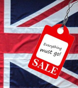 Union Jack sewn quality woven polyester British flag buy price size