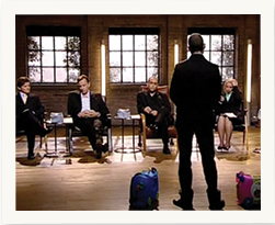 Trunki on Dragons' Den