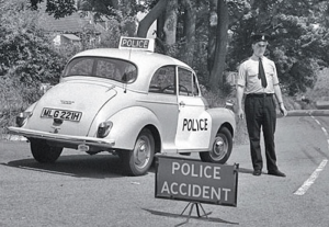The last British made police car on the road?